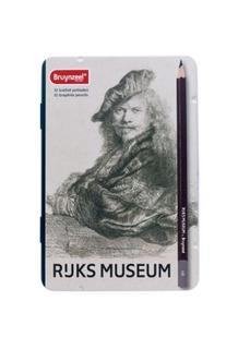 Lapiz Grafito Bruynzeel Rijks Museum 12 Graduaciones Suaves
