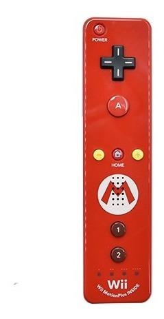 Imagen 1 de 1 de Control Wiimote Mario Para Consola Nintendo Wii U