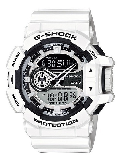 Relógio Casio G-shock Ga-400-7adr H.mundial 5 Alarmes Ga 400