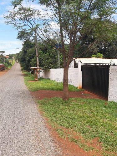 Chácara Com 4 Dormitórios À Venda, 5569 M² Por R$ 1.200.000,00 - Arroio Dourado - Foz Do Iguaçu/pr - Ch0021