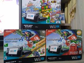Nintendo Wiiu + Hd 500 Gb Com Jogos