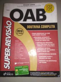 Livro - Oab Doutrina Completa Wander Garcia 6° Ed