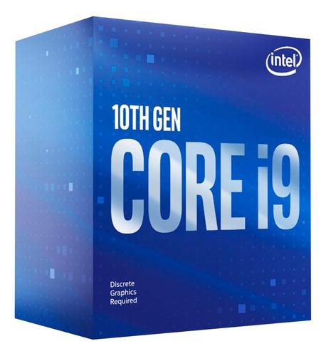 Imagen 1 de 3 de Procesador gamer Intel Core i9-10900F BX8070110900F de 10 núcleos y 2.8GHz de frecuencia