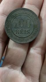 Moeda De 1889 ..100reis Em Otimo Estado De Conservação