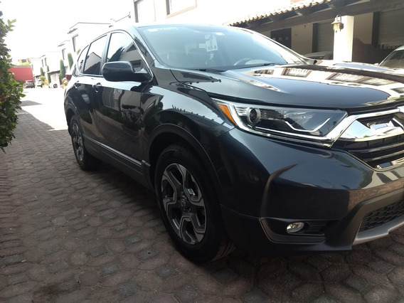 Honda Cr-v 2018 Turbo Plus, Factura Original, Asegurada,