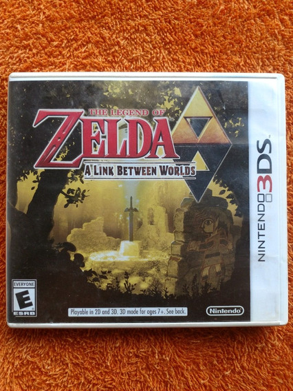 The Legend Of Zelda A Link Between Worlds 3ds Frete R$13
