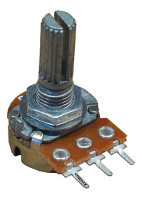 10 Peças - Potênciometro Linear Rotativo 10k L20 Mini Wh148