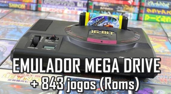Emulador Mega Drive P/ Pc Sega