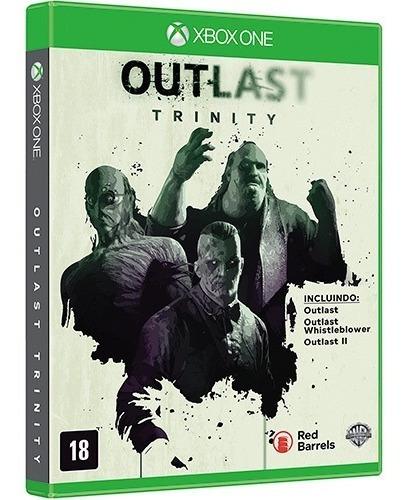 Jogo Mídia Física Outlast Trinity Original Xbox One
