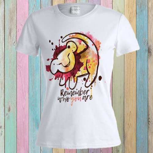 Fashion Retro T-shirt Dama