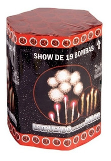 Show De 19 Bombas Estruendo -apto Renar-fuegos Artificiales