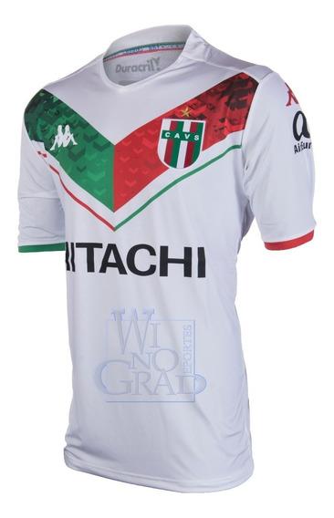 Camiseta Velez Kappa Tricolor Niños Ka077 Winograd