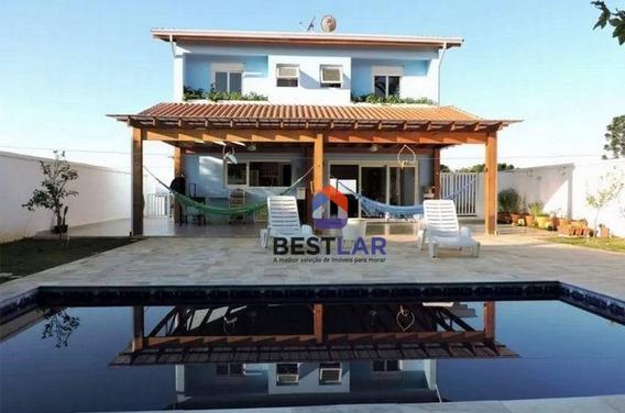 Casa Residencial À Venda, Paisagem Renoir, Cotia. - Ca0310