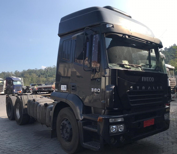 Iveco Stralis 380 - 6x2 - 2006 - Teto Alto