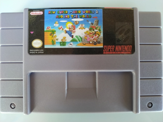 New Super Mario World 2 Around The World Snes Super Nintendo