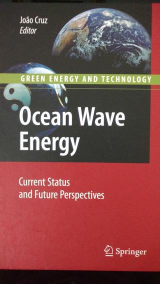 Livro Novo Ocean Wave Energy - Raro No Brasil