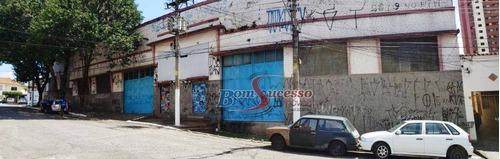 Imagem 1 de 22 de Galpão, 1650 M² - Venda Por R$ 6.300.000,00 Ou Aluguel Por R$ 29.500,00/mês - Água Rasa - São Paulo/sp - Ga0286