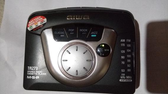 Walkman Aiwa Com Indicador De Bateria