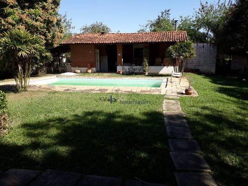 Chácara Com 3 Dormitórios À Venda, 1813 M² Por R$ 550.000,00 - Loteamento Chácaras Vale Das Garças - Campinas/sp - Ch0137