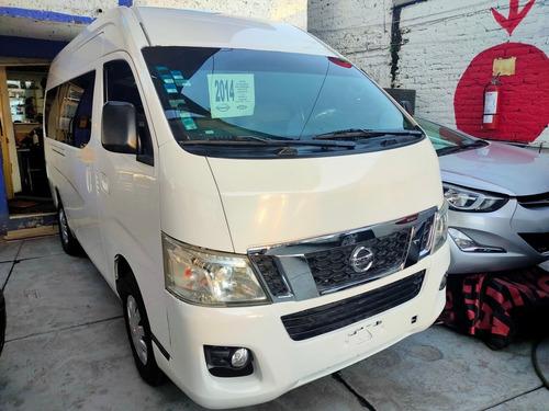 Imagen 1 de 15 de Nissan Urvan 2.5 12 Pas Pack Seguridad Mt    2014