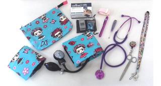 Kit Enfermeria Adulto Pediatrico + Oximetro (keo42)