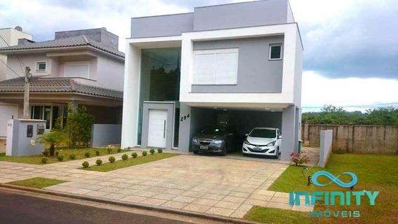Casa De Condomínio Com 4 Dorms, Alphaville, Gravataí - R$ 875 Mil, Cod: 409 - V409