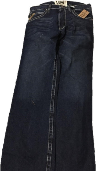 Ariat Pantalon Vaquero Para Hombre 32x34 Nuevo Original Mercado Libre