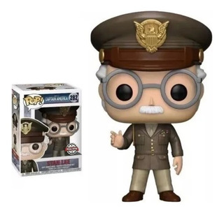 Funko Pop Stan Lee #282 De Capitan America Special Edition