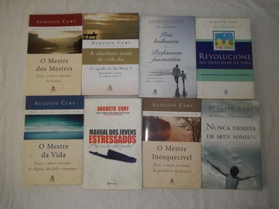 Livro Augusto Cury Lote Com 14 Titulos Conforme Fotos