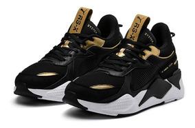 Tênis Puma Rs-x Preto Trophy 43 Chunky Dad Shoes Balenciaga