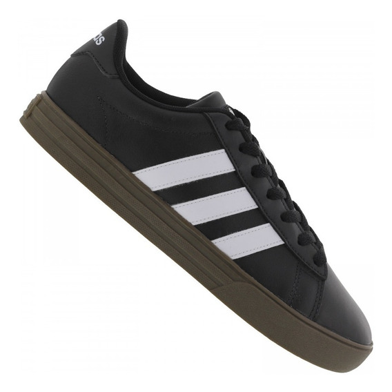 Tênis adidas Daily 2.0 Preto Branco Frete Grátis