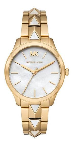 Relógio Michael Kors Runway Feminino Dourado Mk6689/1dn