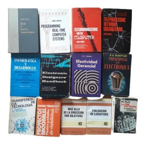 Libros Varios Economía Sistemas Computación Electrónica X Un