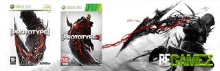 Juegos De Xbox 360, Prototype 1 Y 2