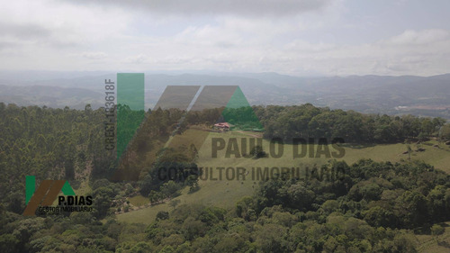 Lindo Sítio Em Pedra Bela, Interior De São Paulo - Si0015