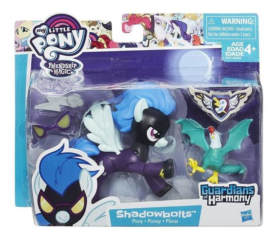 My Little Pony Shadowbolts Articulado + Accesorios Hasbro