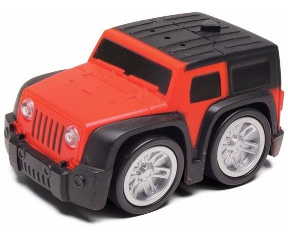 Carrinho Mini Turbo Jeep Vermelho E Preto Dtc