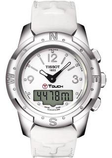 Reloj Tissot T-touch Blanco Mujer