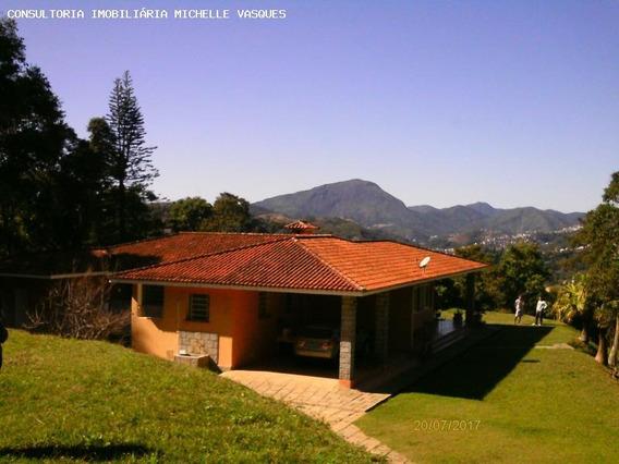 Sítio Para Venda Em Teresópolis, Parque Do Imbui, 4 Dormitórios, 3 Banheiros, 2 Vagas - St-14
