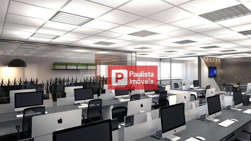 Conjunto Para Alugar, 171 M² Por R$ 17.498,00/mês - Vila Olímpia - São Paulo/sp - Cj1638