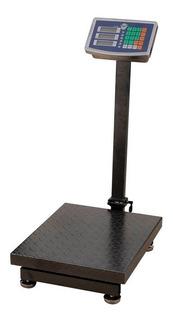 Balança Eletrônica Plataforma 300kg Quilos Bivolt E Bateria