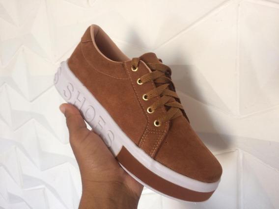Tênis Feminino Shoes Plataforma Envio Imediato Confortável