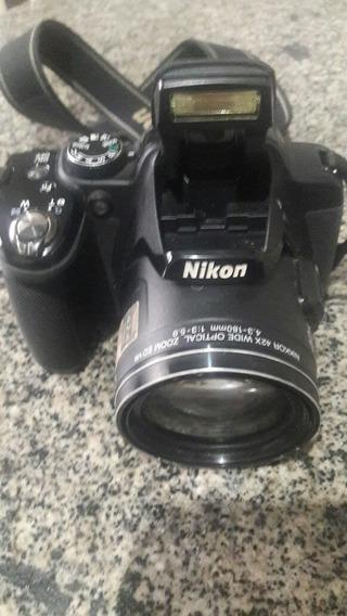Câmera Semi Profissional Nikon Semi Nova