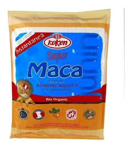 Maca Koken Orgánica Peruana 500 Grs + 100 Grs De Regalo