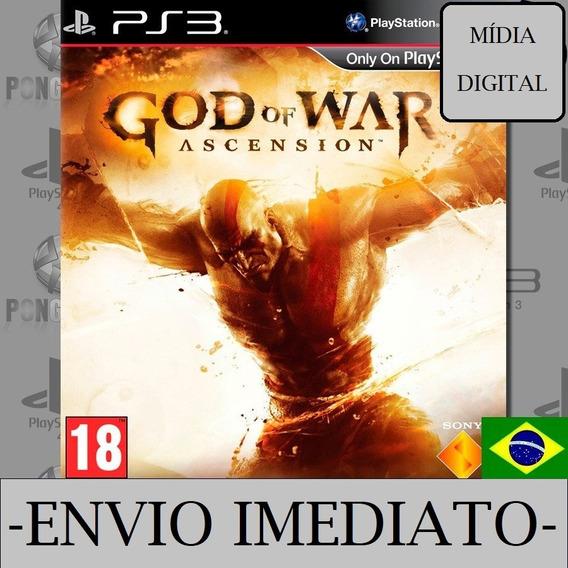 God Of War Ascension Ps3 Psn Mídia Digital Dublado Receba Agora