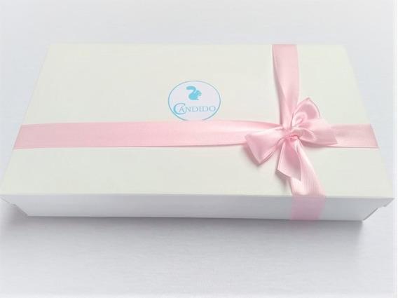 Ajuar De Nacimiento 3 Piezas, Cándido. Remera, Ranita Y Gorro, 100% Algodón. Packaging Ideal Para Regalo