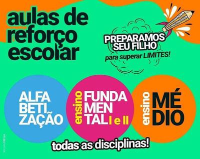 Aulas Particulares (matemática, Português ...). Online*