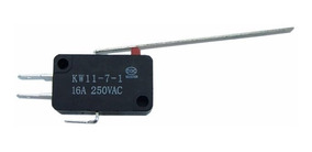 10x Chave Micro Switch Fim Curso Kw11-7-3 16a C/ Haste 60mm