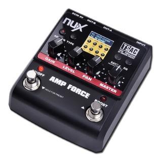 Pedal De Efectos Nux Amp Force Simulador De Amplificadores
