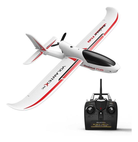 Avion Entrenador Rc 4 Canales Brushless Estabilizado Gyro